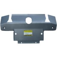 """Защита алюминиевая """"Motodor"""" для переднего бампера, радиатора, рулевых тяг Land Rover Discovery III 2005-2009. Артикул: 383201"""