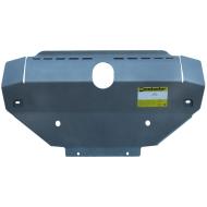 """Защита алюминиевая """"Motodor"""" для переднего бампера, радиатора, рулевых тяг Land Rover Discovery III 2005-2009. Артикул: 383212"""