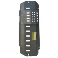 """Защита алюминиевая """"Motodor"""" для передних дифферевнциала и моста Land Rover Defender 2007-2020. Артикул: 383215"""