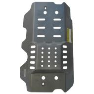 """Защита алюминиевая """"Motodor"""" для задних дифферевнциала и моста Land Rover Defender 2007-2020. Артикул: 383216"""