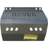 "Защита алюминиевая ""Motodor"" для аккумулятора Lаnd Rover IV Vogue 2013-2020. Артикул: 383218"