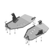 "Защита алюминиевая ""Motodor"" для топливного бака Land Rover Discovery Sport 2015-2020. Артикул: 383222"