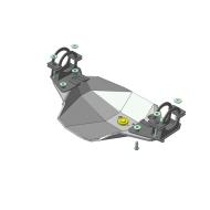 """Защита алюминиевая """"Motodor"""" для заднего дифференциала Lincoln Navigator 1997-1999. Артикул: 383803"""