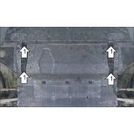 "Защита ""Motodor"" для двигателя Audi A6 C7 седан 2011-2018. Артикул: 60101"