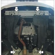 "Защита ""Motodor"" для двигателя, КПП Daewoo Nexia 1995-2020. Артикул: 60501"