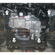 "Защита ""Motodor"" для двигателя и КПП Mazda 2 I 2003-2007. Артикул: 60703"