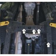 """Защита """"Motodor"""" для РК Ford Ranger IV 2011-2020. Артикул: 60709"""