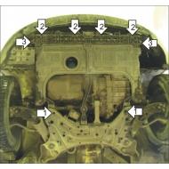 "Защита ""Motodor"" для двигателя Kia Optima III седан 2010-2015. Артикул: 60905"