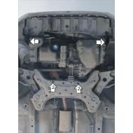 "Защита ""Motodor"" для двигателя и КПП Kia Picanto II хэтчбек 2011-2017. Артикул: 61003"