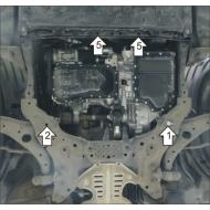 "Защита ""Motodor"" для двигателя и КПП Mazda 6 III седан 2012-2020.Артикул: 61101. Артикул: 61101"