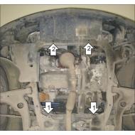 "Защита ""Motodor"" для картера, КПП Opel Zafira B 2005-2011. Артикул: 61501"