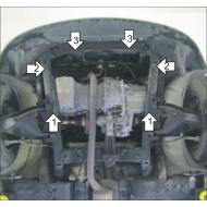 "Защита ""Motodor"" для картера, КПП Renault Sandero Stepway седан 2008-2020. Артикул: 61702"