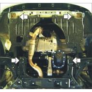 """Защита """"Motodor"""" для двигателя, КПП Daewoo Gentra 2013-2020. Артикул: 63002"""