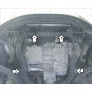 "Защита ""Motodor"" для двигателя и КПП Chevrolet Captiva (бензин) 2011-2014.Артикул: 63003. Артикул: 63003"