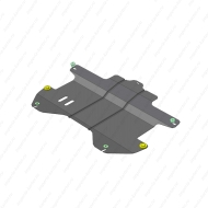 "Защита ""Motodor"" для двигателя и КПП Chevrolet Spark II хэтчбек 2010-2015.Артикул: 63004. Артикул: 63004"