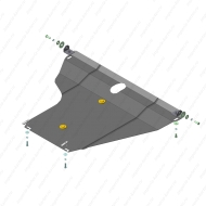 "Защита ""Motodor"" для двигателя и КПП BYD F3 седан 2005-2020.Артикул: 64501. Артикул: 64501"
