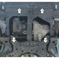 "Защита ""Motodor"" для двигателя и КПП Lifan Solano седан 2008-2020.Артикул: 64701. Артикул: 64701"