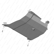 "Защита ""Motodor"" для картера и КПП Lifan 320 Smily (вкл. 330) хэтчбек 2008-2014. Артикул: 64704"