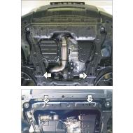 """Защита """"Motodor"""" для картера и КПП Nissan Qashqai II 2015-2020. Артикул: 71401"""