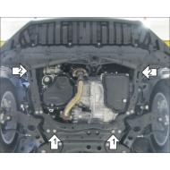"Защита ""Motodor"" для картера и КПП Toyota RAV4 IV 2013-2020. Артикул: 72503"