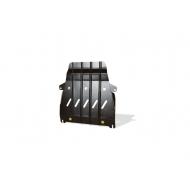 """Защита """"NLZ"""" для радиатора Lexus LX 570 2015-2020. Артикул: NLZ.48.38.320 NEW"""