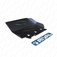 "Защита ""Rival"" для радиатора Ford Ranger III 2012-2015. Артикул: 111.1829.1"