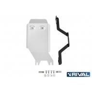 "Защита алюминиевая ""Rival"" для редуктора Toyota RAV 4 V XA50 4WD 2019-2020. Артикул: 333.9536.1"