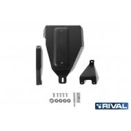 """Защита """"Rival"""" для редуктора Kia Seltos CVT 4WD 2019-2020. Артикул: 111.2847.1"""
