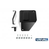 """Защита """"Rival"""" для адсорбера Kia Seltos CVT 4WD 2019-2020. Артикул: 111.2849.1"""