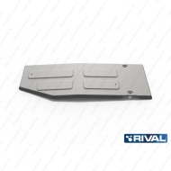 "Защита алюминиевая ""Rival"" для топливного бака Mercedes-Benz X-klasse 4WD 2017-2020. Артикул: 333.3956.1"