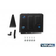 """Защита """"Rival"""" для топливного бака Kia Seltos CVT 4WD 2019-2020. Артикул: 111.2848.1"""
