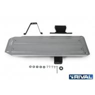 """Защита алюминиевая """"Rival"""" для топливного бака Mitsubishi L200 IV 2006-2015. Артикул: 333.4059.1"""
