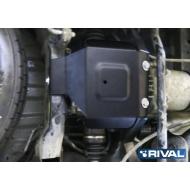 """Защита """"Rival"""" для редуктора Nissan Pathfinder R52 2014-2017. Артикул: 111.4160.1"""