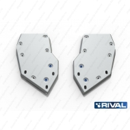 """Защита алюминиевая """"Rival"""" для топливного бака Jeep Grand Cherokee 2010-2014. Артикул: 333.2712.2"""