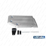"Защита алюминиевая ""Rival"" для топливного бака Renault Duster FWD 2011-2020. Артикул: 333.4720.1"