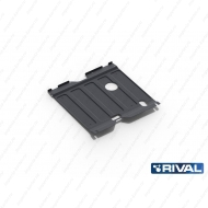 "Защита ""Rival"" для картера и КПП Hyundai Sonata VI 2010-2013. Артикул: 111.2320.1"
