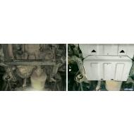 """Защита алюминиевая """"Rival"""" для РК Land Rover Defender 90/110 2007-2016. Артикул: 333.3112.1"""