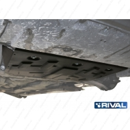 """Защита """"Rival"""" для картера и КПП Mazda CX-9 II 2017-2020. Артикул: 111.3823.1"""