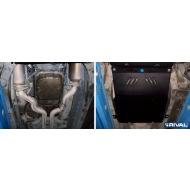 """Защита """"Rival"""" для КПП Cadillac CTS II 2008-2013. Артикул: 111.0804.1"""