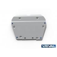 "Защита алюминиевая ""Rival"" для картера и КПП Land Rover Freelander II 2012-2015. Артикул: 333.3115.1"