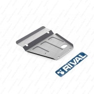 "Защита алюминиевая ""Rival"" для картера Hyundai Porter 2005-2012. Артикул: 333.2307.1"