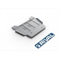 "Защита алюминиевая ""Rival"" для РК Chevrolet Tahoe V 2014-2020. Артикул: 333.0810.1"