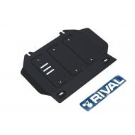 """Защита """"Rival"""" для картера Isuzu D-Max II 2012-2020. Артикул: 111.9102.1"""