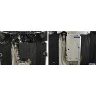 """Защита алюминиевая """"Rival"""" для КПП BMW 4-серия купе RWD 2012-2020. Артикул: 333.0521.1"""