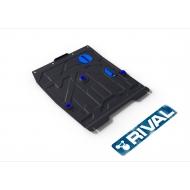 """Защита """"Rival"""" для картера и КПП Fiat Sedici 2005-2012. Артикул: 111.5505.3"""