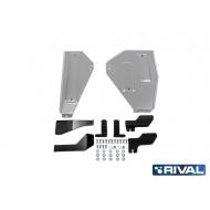 "Защита алюминиевая ""Rival"" для топливного бака Renault Koleos II 4WD 2017-2020. Артикул: 333.4149.1"