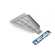 "Защита алюминиевая ""Rival"" для КПП DW Hower H3 2017-2020. Артикул: 333.2002.2"