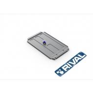 """Защита алюминиевая """"Rival"""" для КПП Nissan NP300 2008-2015. Артикул: 333.4126.1"""