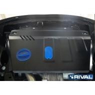 """Защита """"Rival"""" для картера и КПП Chevrolet Captiva I 2012-2020. Артикул: 111.4216.1"""
