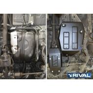 """Защита """"Rival"""" для топливного бака Haval H6 МКПП 4WD 2014-2020. Артикул: 111.9405.1"""